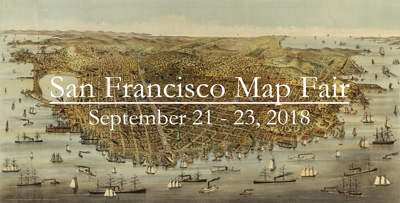 Rarecharts will attend the 2018 San Francisco Map Fair.  Our offerings will include an unrecorded Dutch sea chart of the World by Johannes Loots.