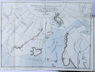 In 1822 Scoresby mapped the East coast of Greenland.