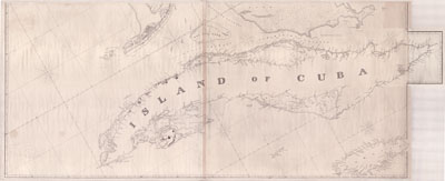 Patten's Rare Chart of the Southern Coast of the United States of America, from Block Island to Cuba.