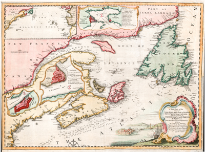 Jefferys: East Canada and Newfoundland.
